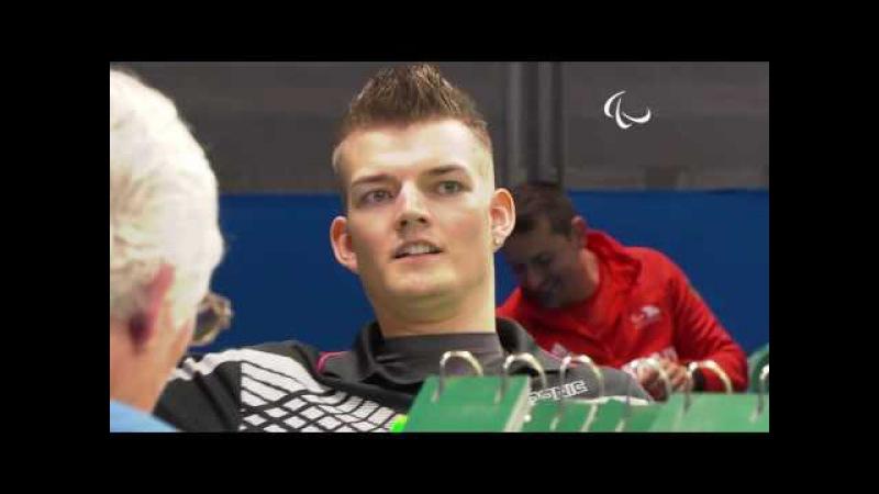 Table Tennis   GER vs THA   Men's Singles - Class 3 Group A   Rio 2016