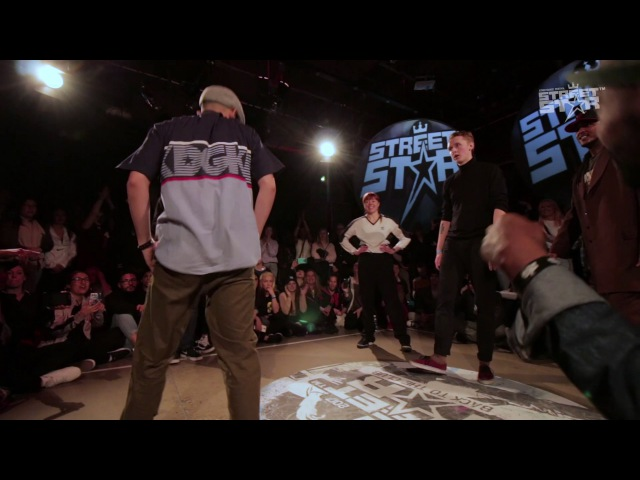 STREETSTAR 2017 Popping Final Cypher MT Pop Inxi Funky Moe Sir Pop A Lot