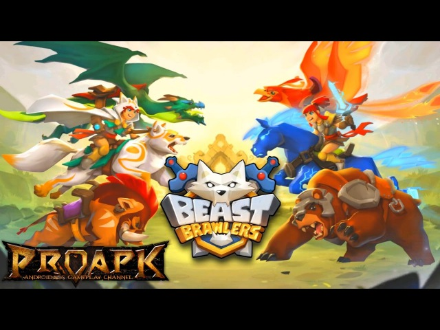Beast Brawlers Gameplay Android / iOS (MOBA)
