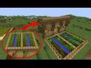 Как улучшить большую деревенскую ферму в Майнкрафте Трансформируем деревню Minec