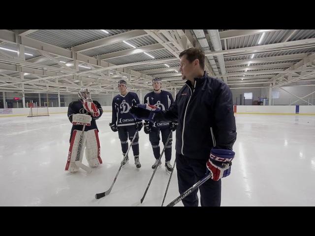 Тактическая подготовка защитников на льду