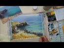 Видео урок рисования акварелью Солнечный пейзаж Морское дно Превью к уроку