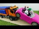 Заглохшая машина Гиджет и Макса. Тайная жизнь домашних животных. Видео с игрушками для детей.