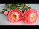 ABC TV | How To Make Coral Charm Peony Paper Flower From Crepe Paper - Craft Tutorial