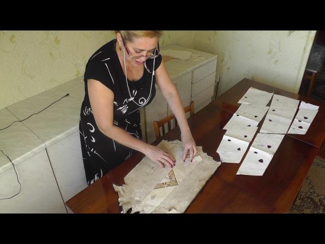Как сделать выкройку для шубы | Как раскроить шубу