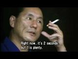 The filmmaking principles of Takeshi Kitano