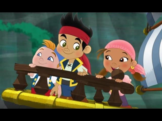 Джейк и пираты Нетландии - Все серии подряд (Сезон 1 Серии 13, 14,15) l Мультфильм про пиратов