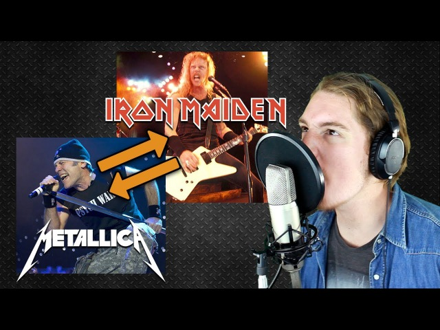 If IRON MAIDEN and METALLICA swap their singing style (Part 1)