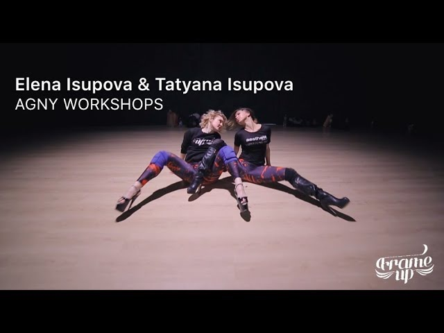 Парная хорео на AGNY WORKSHOPS June 2017 Исуповы Elena Isupova Tatyana Isupova Mainwood