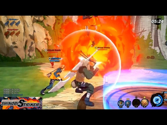 Naruto to Boruto Shinobi Striker - Capture the Flag 4 vs 4 Full Match Gameplay (HD 60fps)