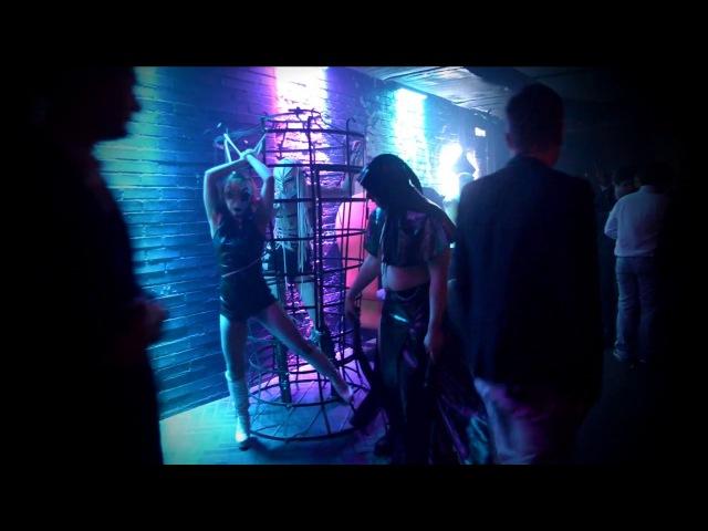 BDSM SHOW - перформанс в клубе МИКС ! БДСМ театр СЕКС МИССИЯ - фетиш фрик шоу !