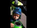 Денис первый раз на мотоцикле! 2