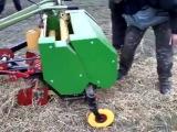 Пресс-подборщик рулонный для мотоблока