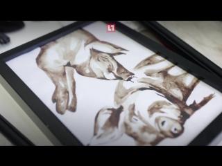 Нижегородская художница пишет картины своей кровью