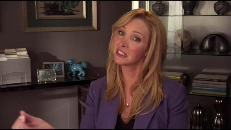 1.02. Веб-терапия / Интернет-терапия (Lisa Kudrow из сериала Друзья / Friends в роли психолога / психотерапевта)