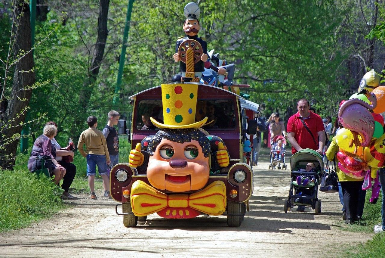 В Таганроге ко Дню защиты детей парк им. Горького приготовил праздничную программу