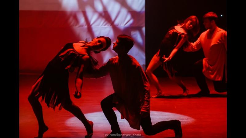 Отчетный концерт школы танца Карамель Шоу балет Карамель Танец Ангелы и демоны