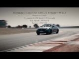 Mercedes-Benz E63 AMG S 4 Matik+ Full Version