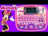 Видео обзоры игрушек - Интерактивный планшет Минни Маус