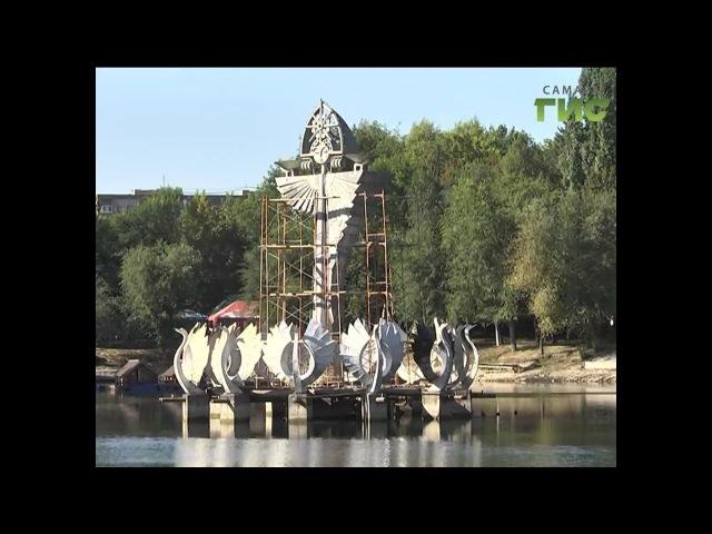 Лебедей переселили,но они обязательно вернутся. В Парке 50-летия Октября продолжается ремонт