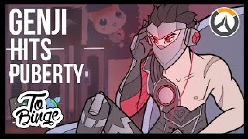 Genji Hits Puberty: An Overwatch Cartoon
