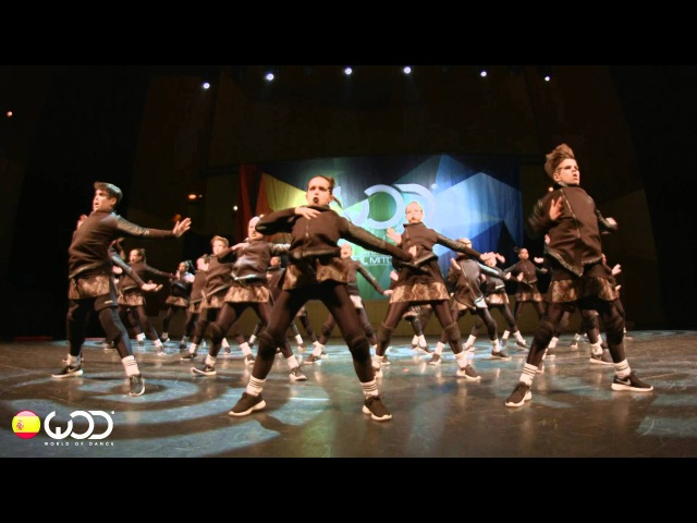Kidz on the Block   1st Place Youth Division   FRONTROW   World of Dance Spain 2015   WODSP15
