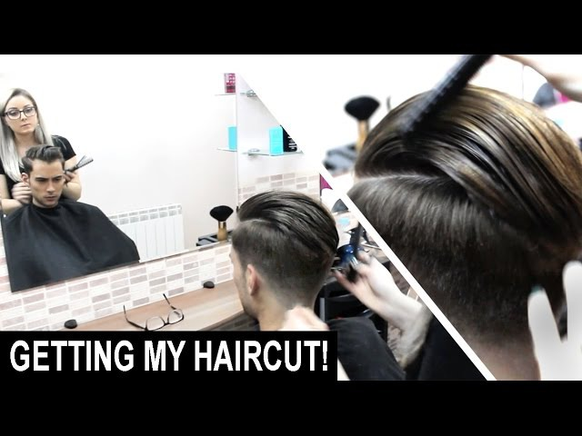 Disconnected Skin Faded Haircut Slick Back Hairstyle | Men's Hair | My Hairstyles | Ruben Ramos