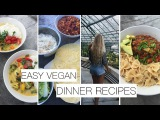 EASY VEGAN DINNER RECIPES l HCLF - ALINE SOPHIE