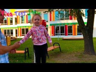 Как мама. Вика скоро пойдет в новый польский детский садик.
