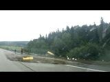 ДТП Трасса М3 возле Логойска. Минск - Витебск 2017