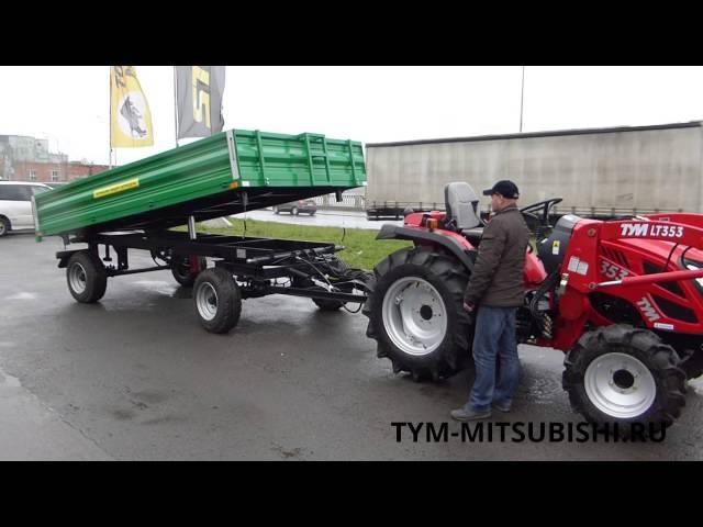 Прицеп тракторный самосвальный 2ПТС-4,5