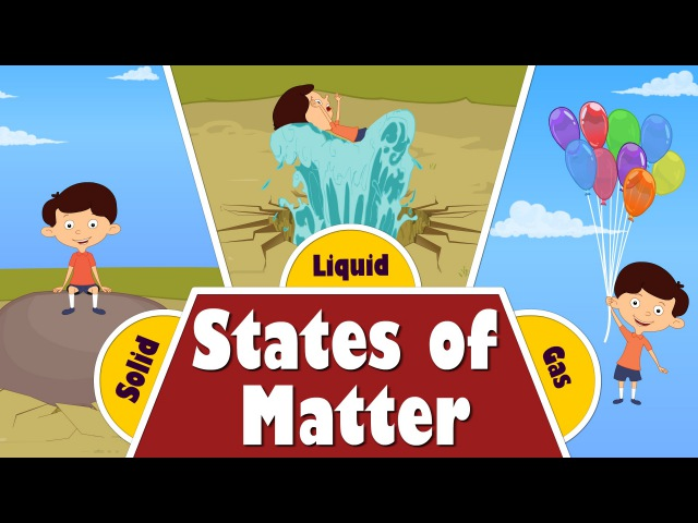 States of Matter for Kids | aumsum kids education science learn