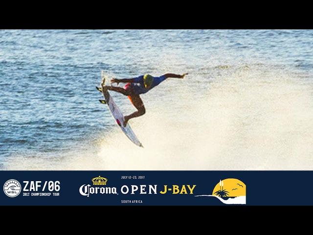 Filipe Toledo's Double Alley-Oop Perfect 10 - Corona Open J-Bay 2017