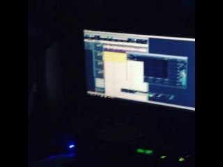 Денис КизиМ - на студии ЮАО - рекордс