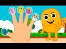 Киндер сюрприз Семья пальчиков мультик для детей. For kids