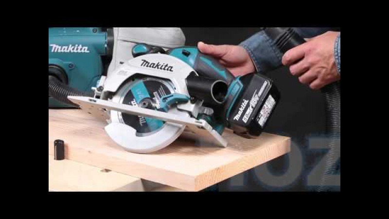 Demonstratie Cirkelzaag Makita 18V DHS680 165mm