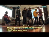 Eng.Sub Teen Top paper game and Changjo first Kiss