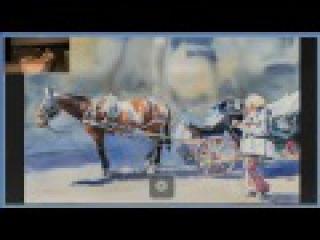 Отражение. Акварели и рисунки Андрея Есионова