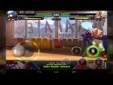 Прохождение Android игры The king of Fighters XIII за команду
