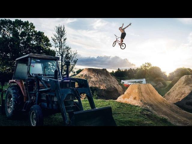 Dawid Godziek Crew Shred New Zealand Raw on a BMX Holiday | BMX Paradise: Ep 1