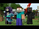 ♪ RAIDERS - MINECRAFT PARODY OF CLOSER BY THE CHAINSMOKERS ♫ (ANIMATED MUSIC VIDEO) ♫