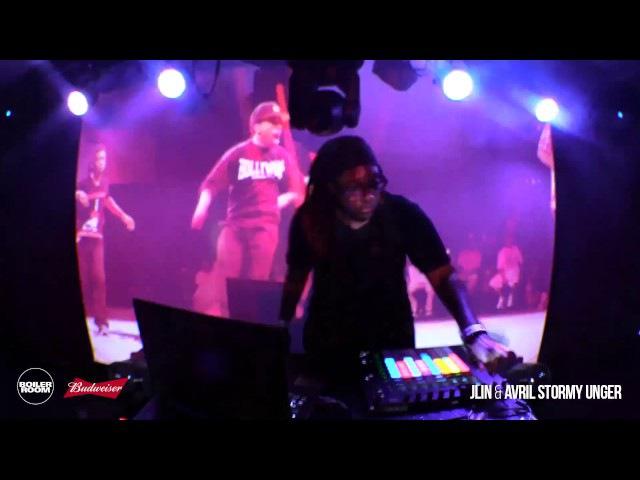 Bass: Jlin Avril Stormy Unger Boiler Room Bengaluru Budweiser Live Set
