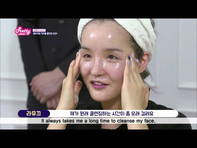 [Pretty Avengers] How They Cleanse Their Makeup - Bareface Reveal 프리티어벤져스 민낯 신고식