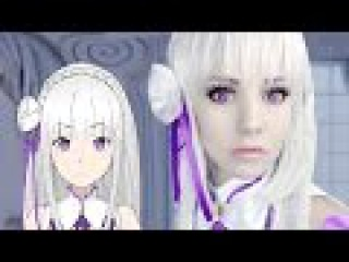 ☆ Emilia Makeup Cosplay Tutorial Re:Zero ゼロから始める異世界生活 ☆