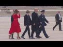 My How Barron Trump Has Grown Since Inauguration - Stunning Melania in RED