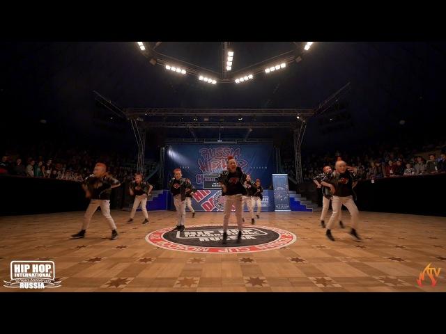 BZZZ-ZIG   JUNIOR CREW   HIP HOP INTERNATIONAL RUSSIA 10th ANNIVERSARY