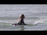Tayla de Coning Surfing Movie