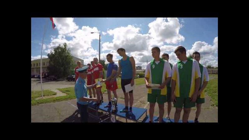 Соревнования по лёгкой атлерике между СПСЧ г Саров