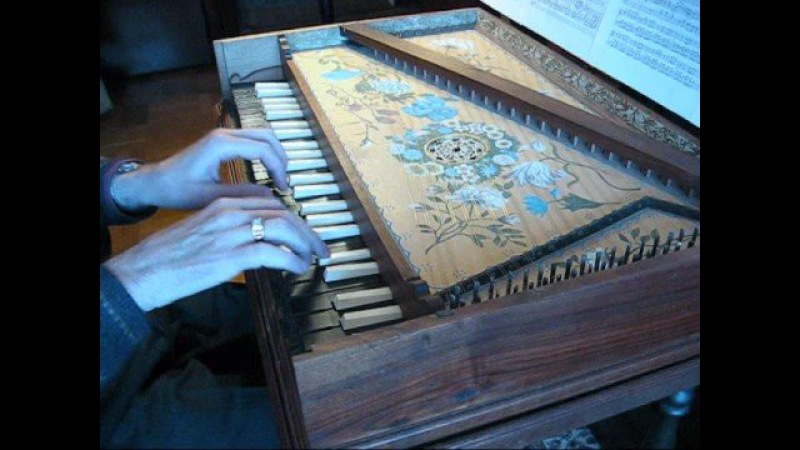 Vivaldi/Bach: Concerto in A minor for Organ (arr. by Ryan Layne Whitney), on replica 1677 Epinette