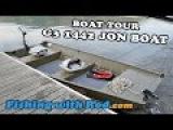 Boat Tour G3 1442 Jon Boat  Fishing with Rod